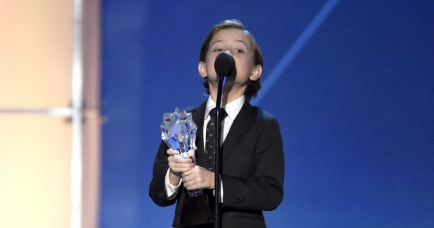 The little boy from Room just destroyed hearts (and the dancefloor) at the Critics' Choice Awards