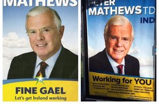 'Completely different': Peter Mathews says he's not copying Fine Gael colours