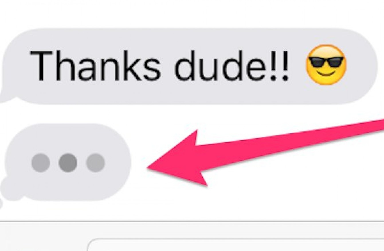 Those Dots You See In Imessage Are More Complicated Than You Think