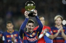 A journalist asked Messi if he could do it on a cold Wednesday night in Stoke
