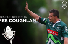 Ex-Munster man Coughlan wins player of the season award in France