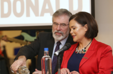 Gerry Adams is hopeful he'll be Taoiseach for the Easter Rising centenary