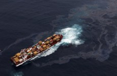 NZ teams rush to clear oil from grounded ship before it breaks apart or sinks