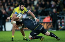 Clermont flanker gets 14-week ban for pushing Wayne Barnes