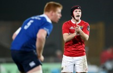 Munster rule Kiwi import Bleyendaal out for 12 weeks with quad injury