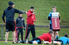 'He's still one of the lads' - Retired Felix Jones pitches in at Munster