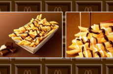 McDonald's is now selling chips drizzled in chocolate sauce