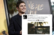 Everyone is talking about Zac Efron's morto Twitter faux pas… it's the Dredge