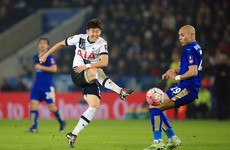 Son shines for Spurs as they beat Leicester to reach FA Cup 4th round