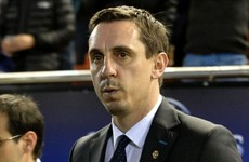 Gary Neville slams Spanish press after 'false' claims of berating his Valencia players