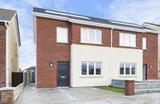 There are just two houses still available in this new Balbriggan development