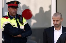 Mascherano escapes prison sentence for tax fraud