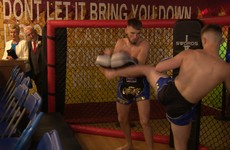 Irish couple throw MMA-themed wedding after hen party at SBG