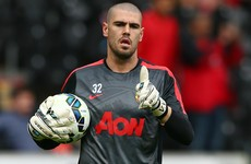 Valdes posts message to Man United 'family' ahead of Standard Liege move