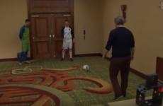 Robbie Keane beats* Pirlo, Gerrard and Lampard in MLS target challenge