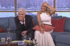 Holly Willoughby and Phillip Schofield presented This Morning a bit worse for wear today