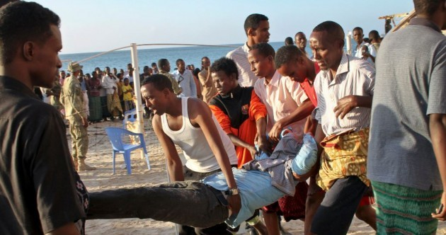 At least 19 dead after bomb blast in Somalian seaside resort