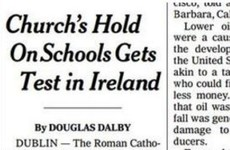 The New York Times has put the spotlight on having to baptise a child to get them into school