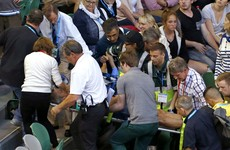 Ana Ivanovic's coach in medical emergency at Aussie Open