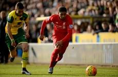 As it happened: Norwich v Liverpool, Premier League