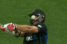 New Zealand batsman left with horrific eye injury after bouncer smashes through helmet