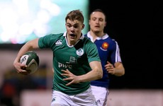 Ireland U20s coach Carolan hoping to see more follow Ringrose's path