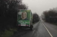 Fianna Fáil candidate says trailer was stolen and left on road with continuous white line