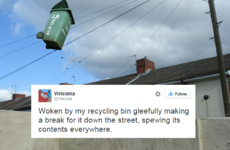 The wheelie bins of Ireland are in a literal heap thanks to #StormJonas