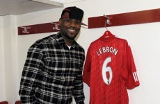 Gallery: Behind the scenes of LeBron James' Anfield Adventure