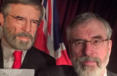 Gerry Adams has just taken a selfie with Gerry Adams