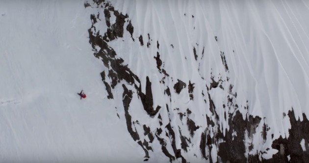 WATCH: Skier somehow survives terrifying 1,000 foot fall down a mountain