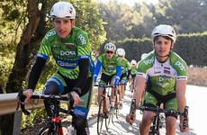 We spent two days with the An Post Sean Kelly team during their Spanish training camp