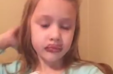 This little girl's home-made beauty tutorial went hilariously wrong