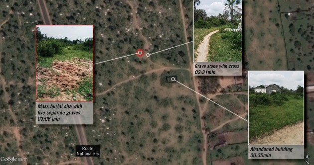 'I don't know if my child's been buried' - Images show possible mass graves after Burundi killings