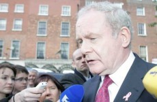 Martin McGuinness: 'I know nothing about the Northern Bank robbery'