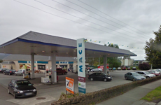 Man arrested after petrol station robbed by raider who escaped through graveyard