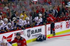Wayne Barnes doesn't know how lucky he is… NHL player faces suspension for hit on referee