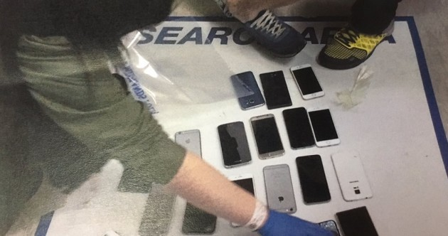 Man arrested at a Libertines gig with 38 mobile phones stuffed down his trousers