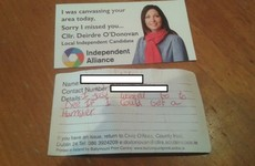 A cute kid just made the perfect election request to a Dublin candidate