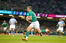 Luke Fitzgerald emerges as doubt for Ireland's Six Nations opener