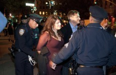 Author Naomi Wolf arrested at Occupy Wall Street protest