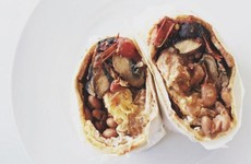 An LA cafe is selling a Full Irish in a burrito as a hangover cure
