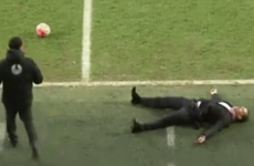 The Peterborough boss deserves an Oscar for his touchline acting
