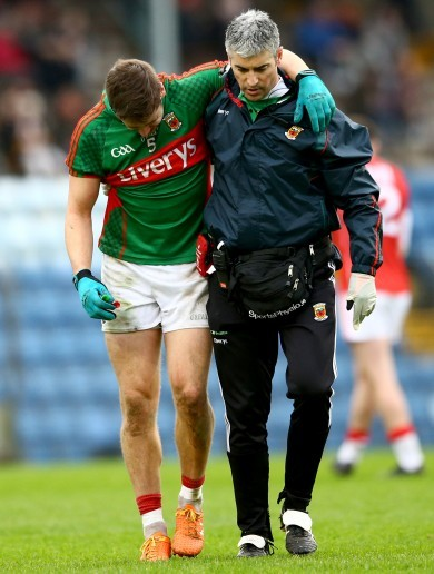 Mayo medics accept Lee Keegan 'should have been withdrawn' after heavy clash