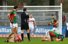'You have to mind the player from himself, but he was responsive': Mayo boss Rochford on Keegan concussion