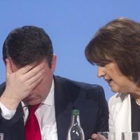 Slapped down: Joan Burton insists she IS Alan Kelly's boss