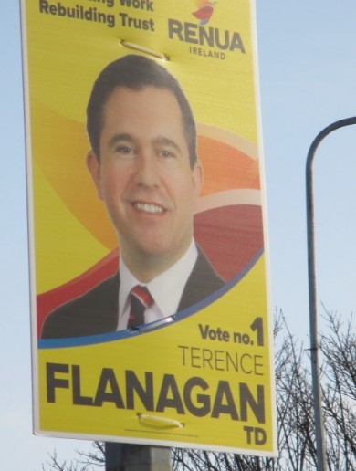 Renua TD's premature poster erection in north Dublin