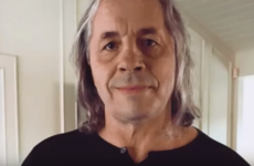 Wrestling legend Bret Hart reveals he has prostate cancer