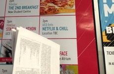 Somebody in UCD does not understand what 'Netflix and chill' means