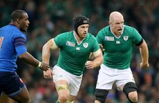 Paulie's not around to 'stare and intimidate', but otherwise a familiar feeling in Ireland camp